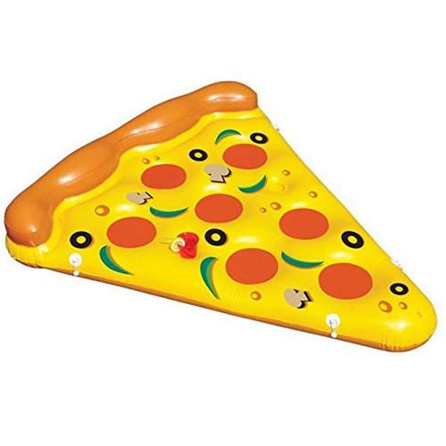 Надувной матрас Пицца, 180х135см