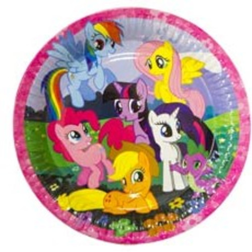 Тарелки My Little Pony, 23см, 8шт