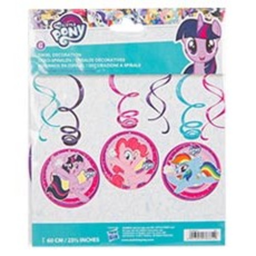 Спираль My Little Pony 46-60см 6шт